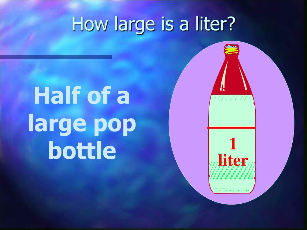 How large is a liter?