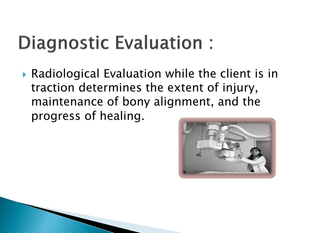 Diagnostic Evaluation :