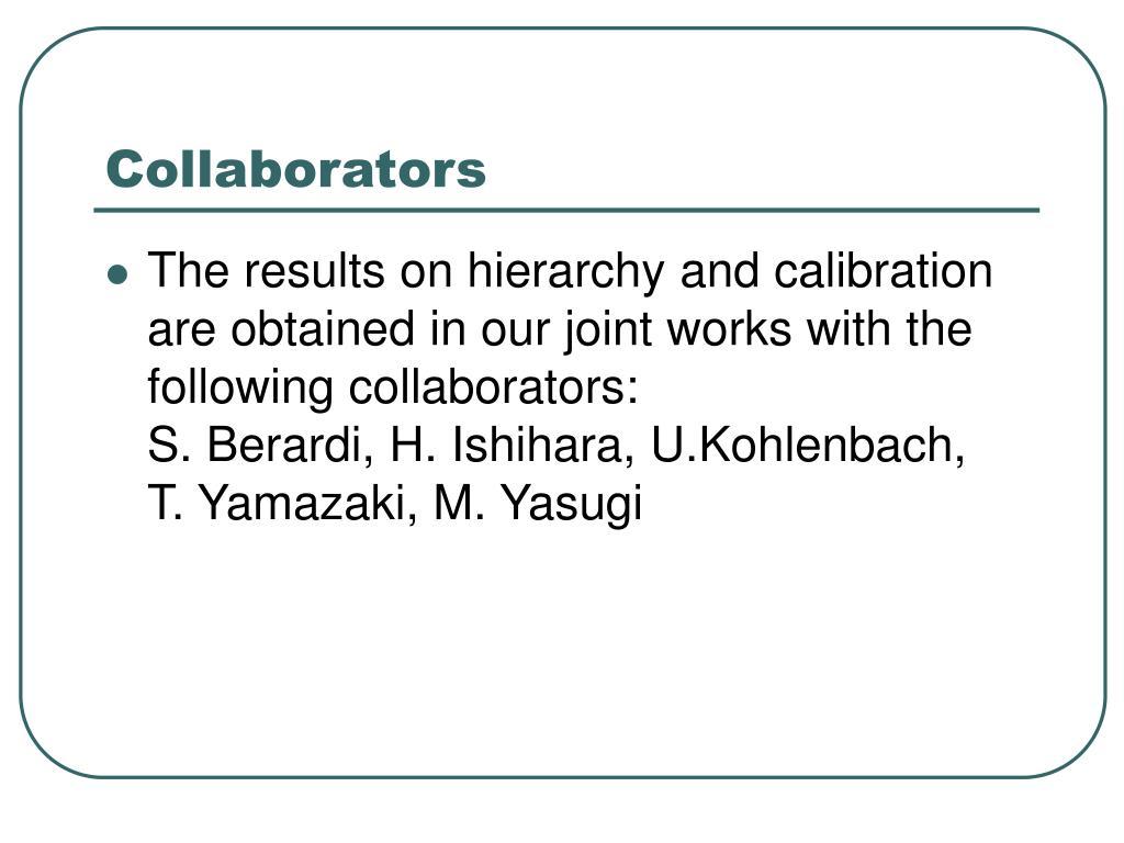 Collaborators