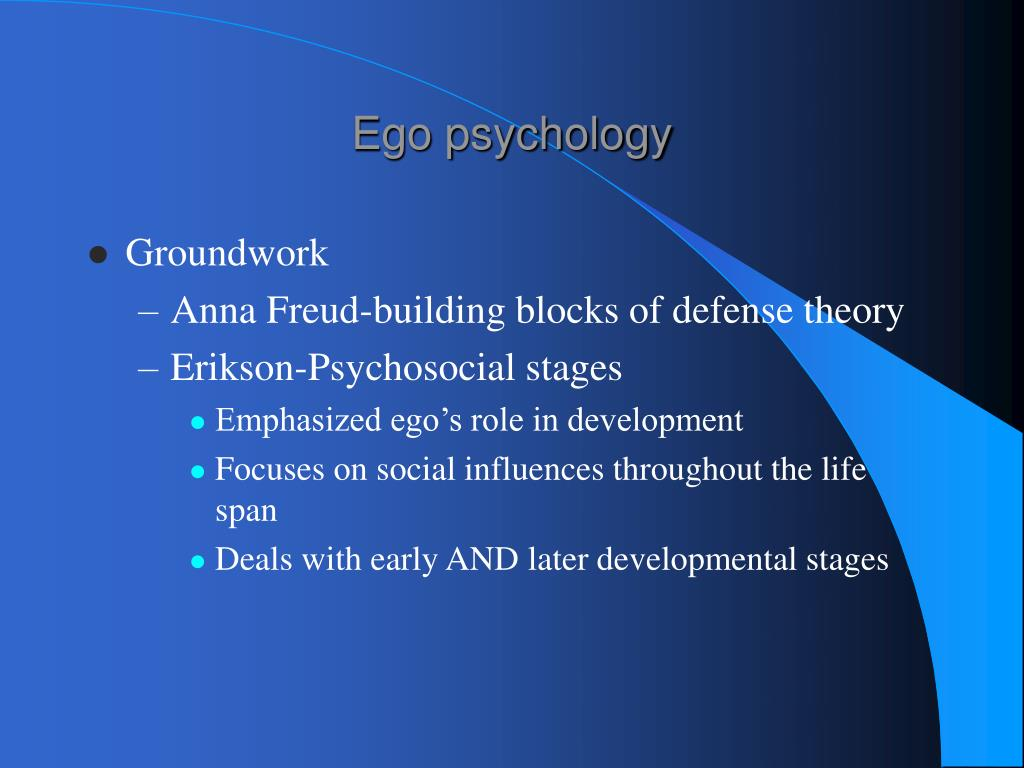 hartmann essays ego psychology Essays on ego psychology by heinz hartmann 3 editions first published in 1964 subjects: ego (psychology.