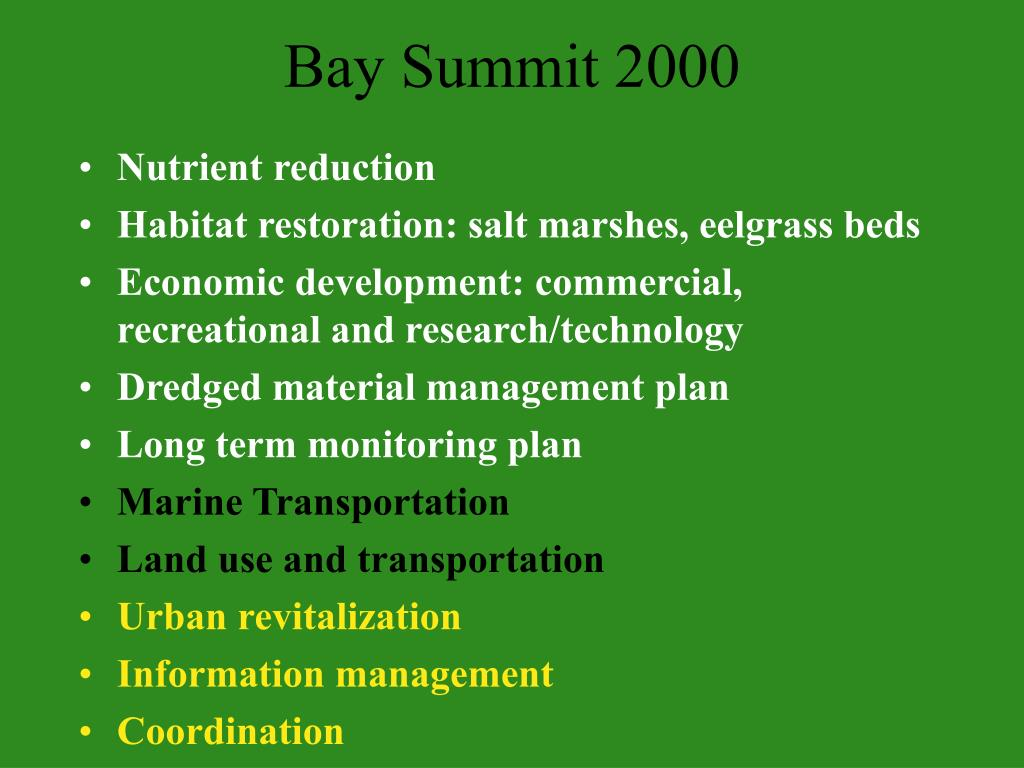 Bay Summit 2000