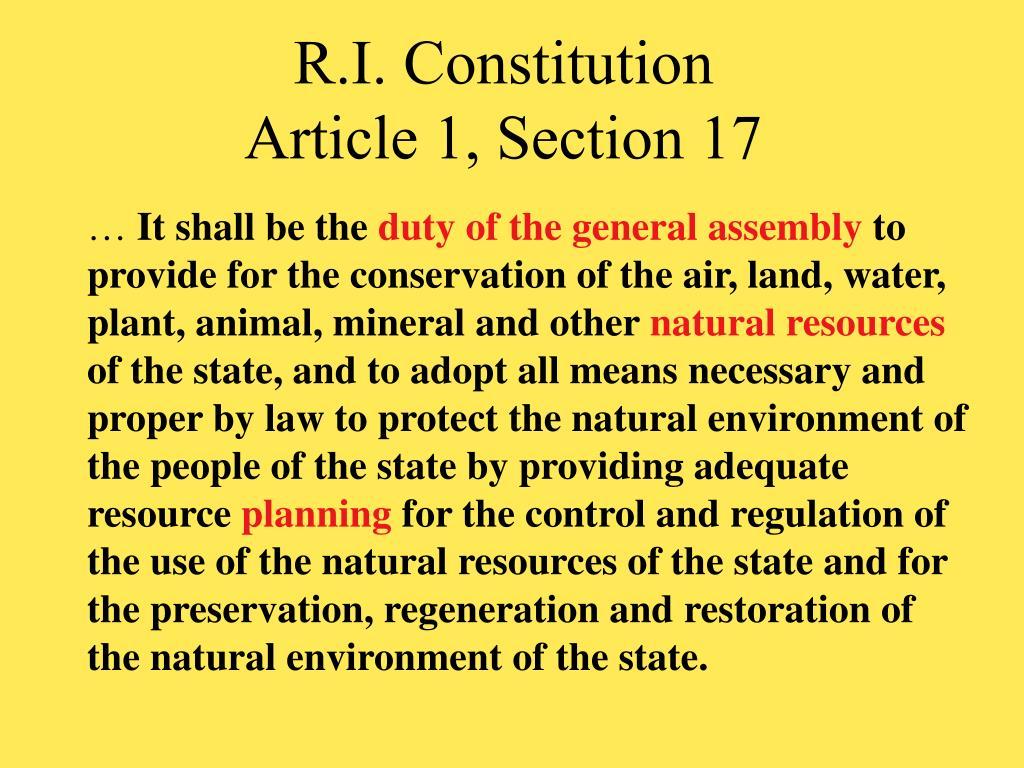 R.I. Constitution