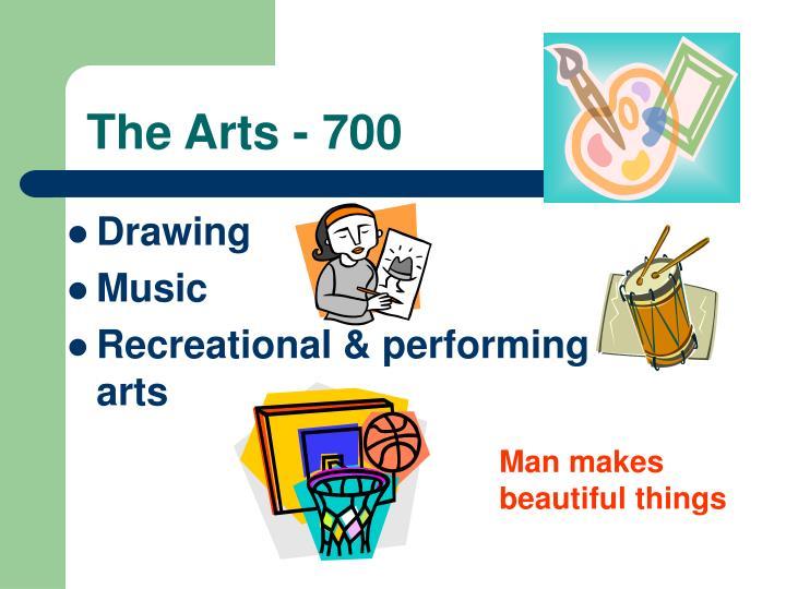 The Arts - 700
