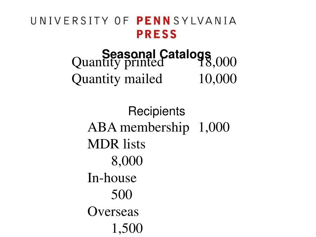 Quantity printed18,000