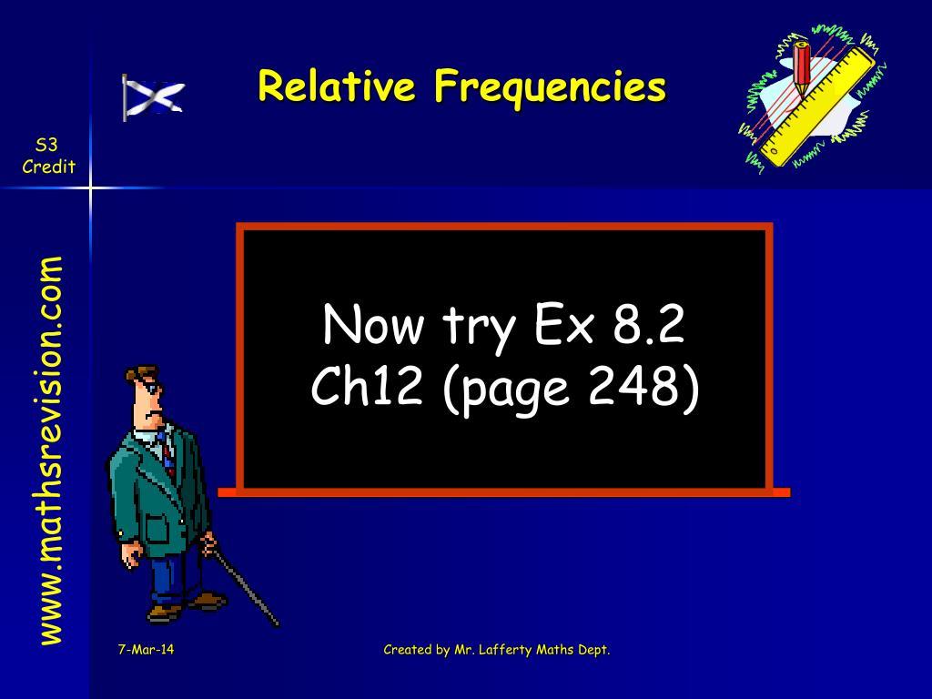 Relative Frequencies