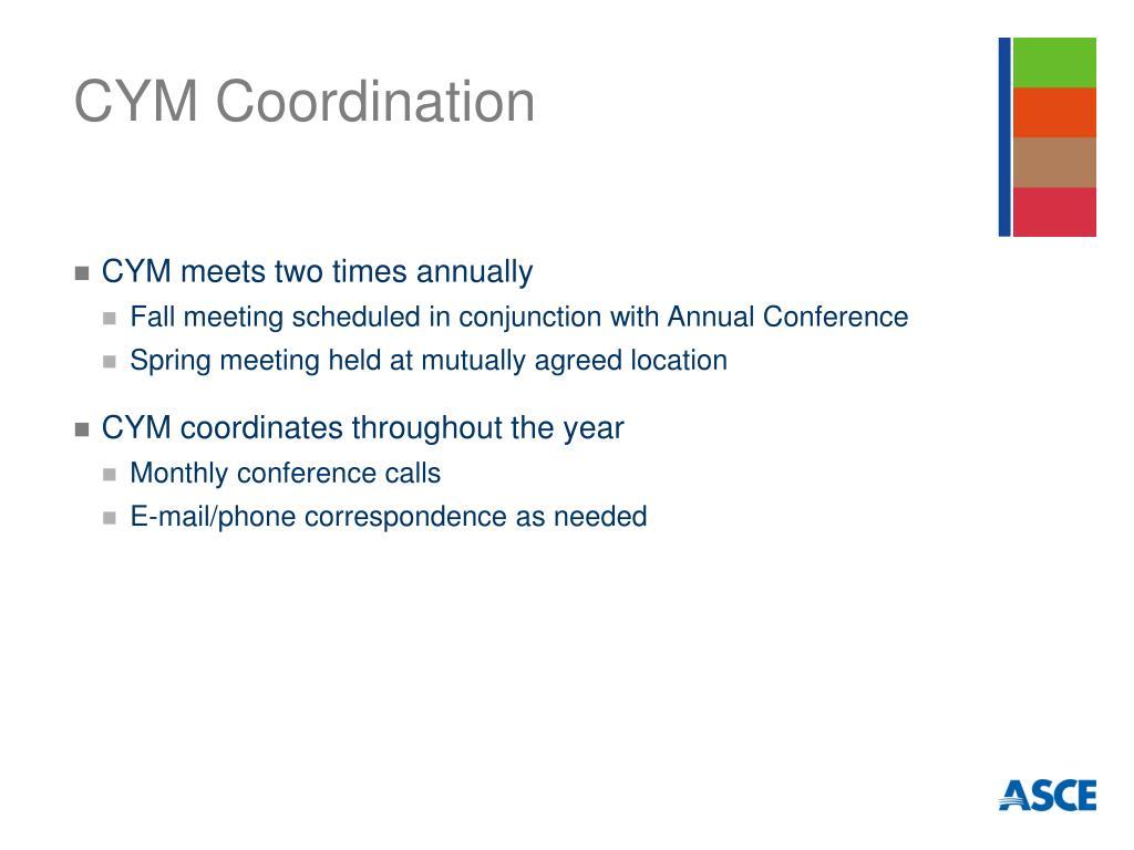 CYM Coordination