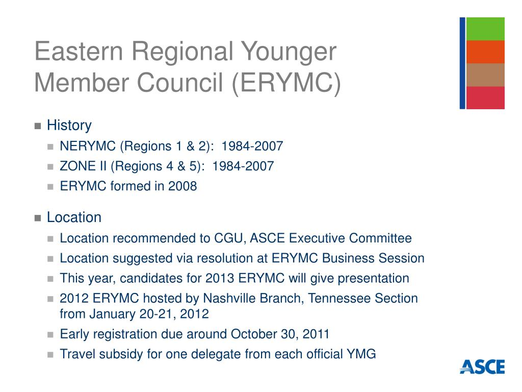 Eastern Regional Younger Member Council (ERYMC)