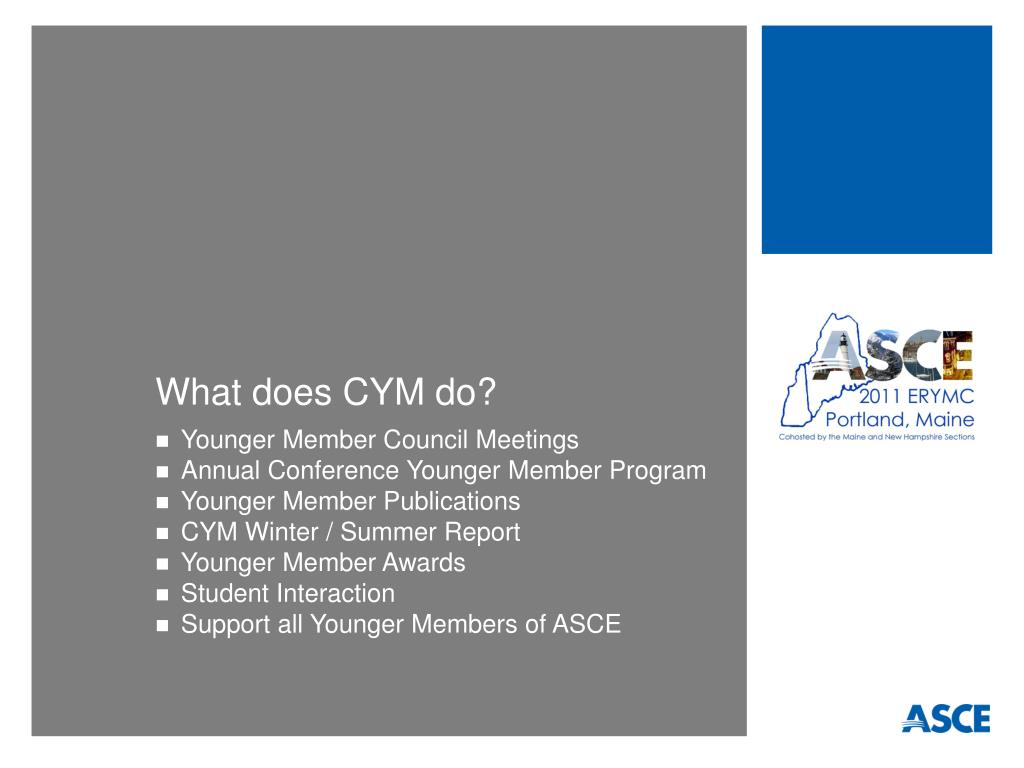 What does CYM do?