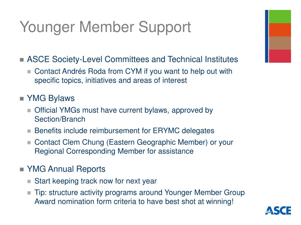 Younger Member Support