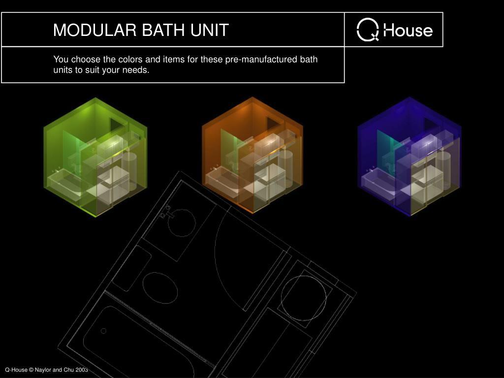 MODULAR BATH UNIT