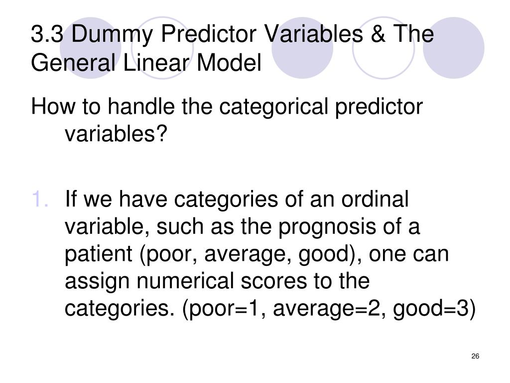 PPT - Multiple Linear Regression and the General Linear ...