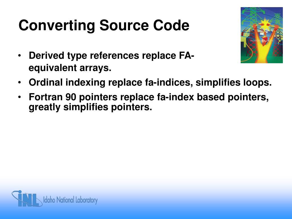Converting Source Code