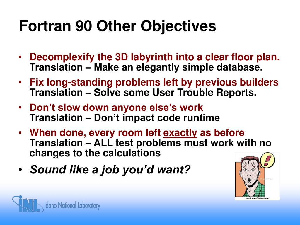 Fortran 90 Other Objectives