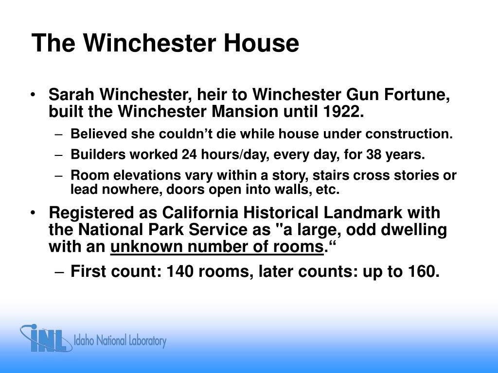 The Winchester House