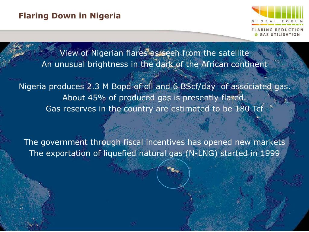 Flaring Down in Nigeria
