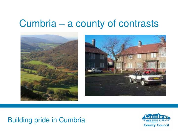 Cumbria – a county of contrasts