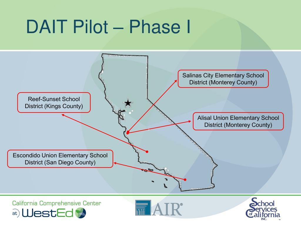 DAIT Pilot – Phase I
