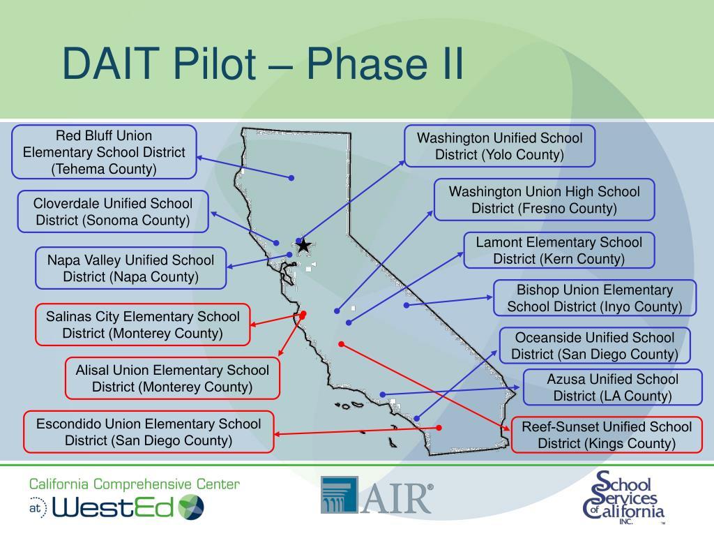 DAIT Pilot – Phase II