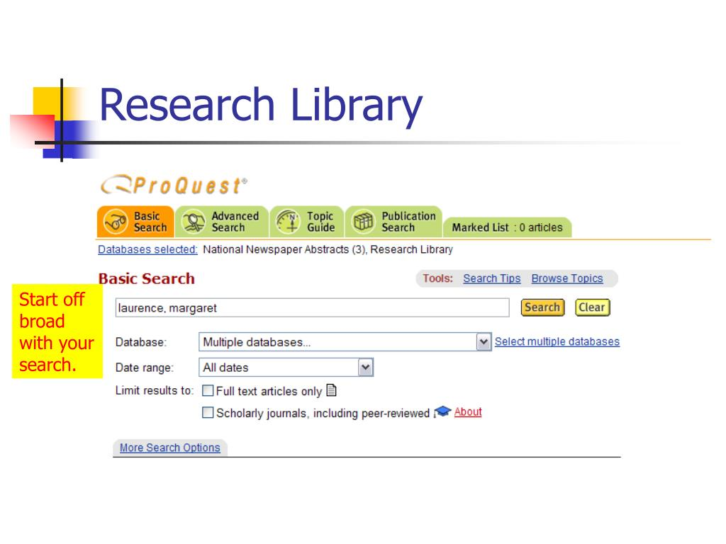 Research Library