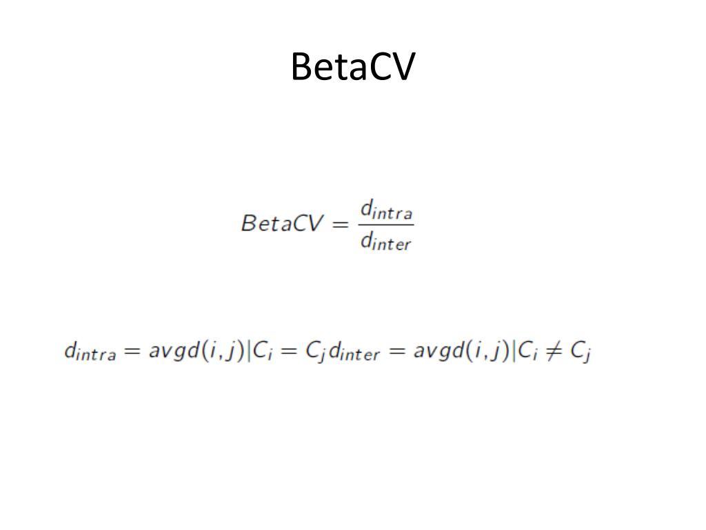 BetaCV