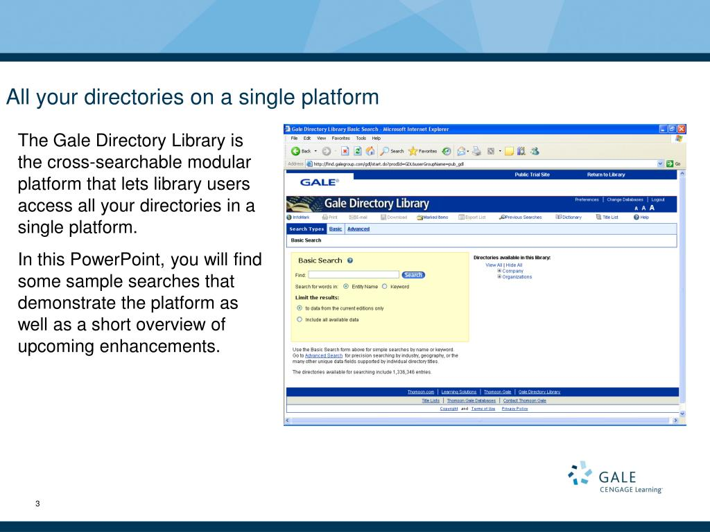 All your directories on a single platform