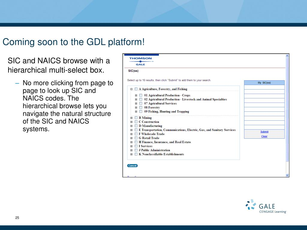 Coming soon to the GDL platform!