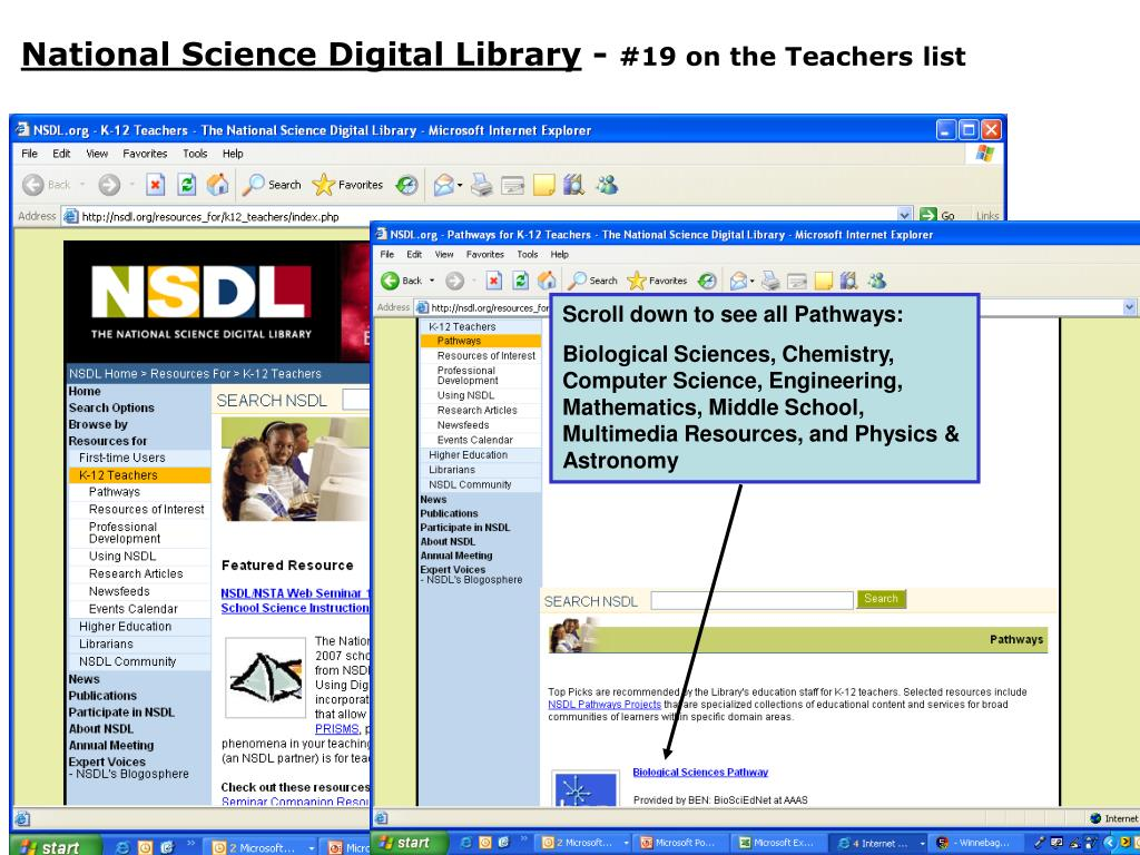 National Science Digital Library