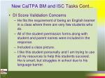 new caltpa bm and isc tasks cont11