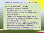 new caltpa bm and isc tasks cont12