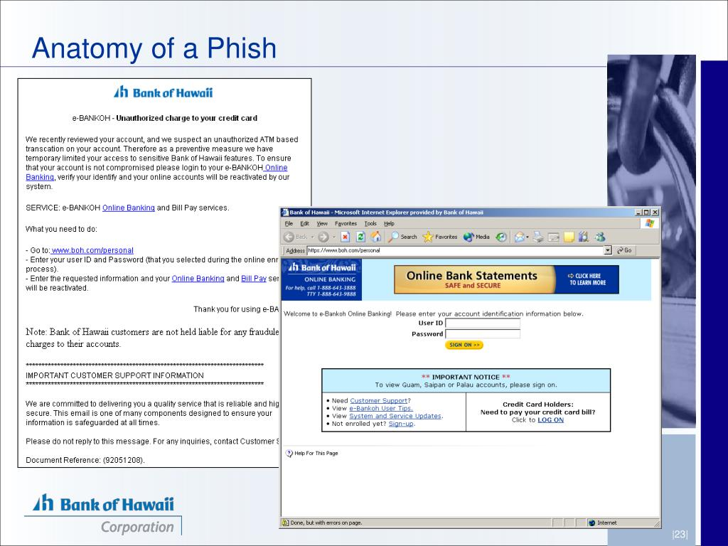 Anatomy of a Phish