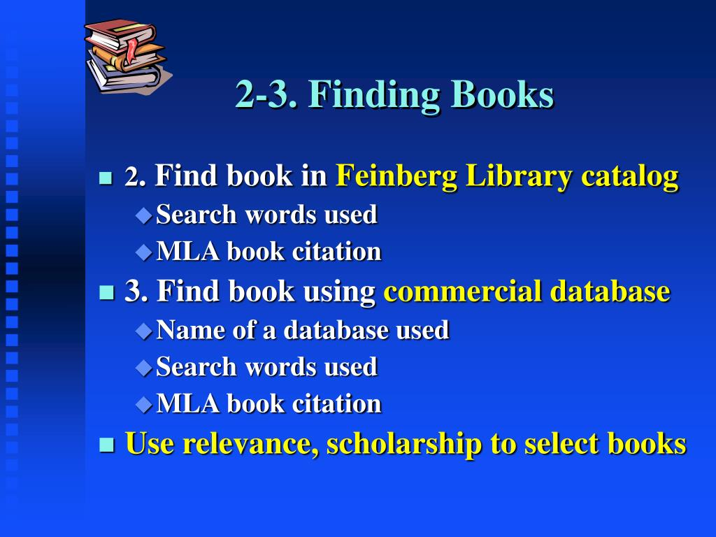 2-3. Finding Books
