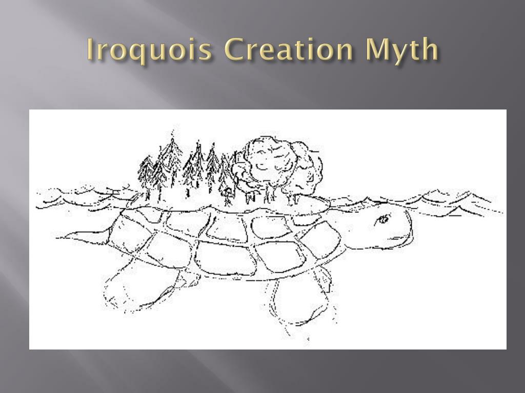 iroquois creation myth essay Start studying native american creation myth test learn  in your essay, discuss the purpose of the iroquois constitution and the principles on which it is.