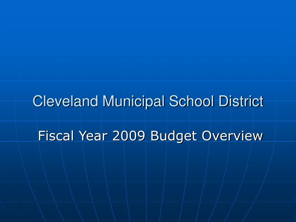 Cleveland Municipal School District