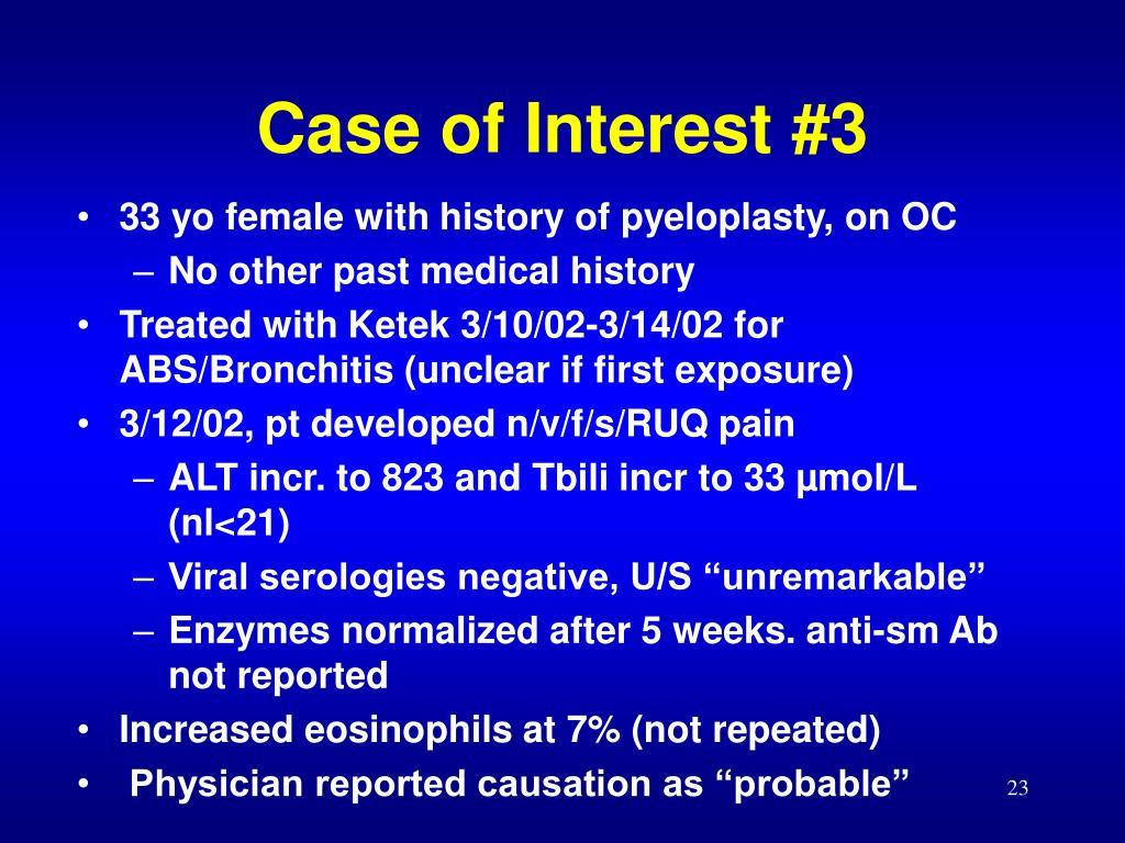 Case of Interest #3