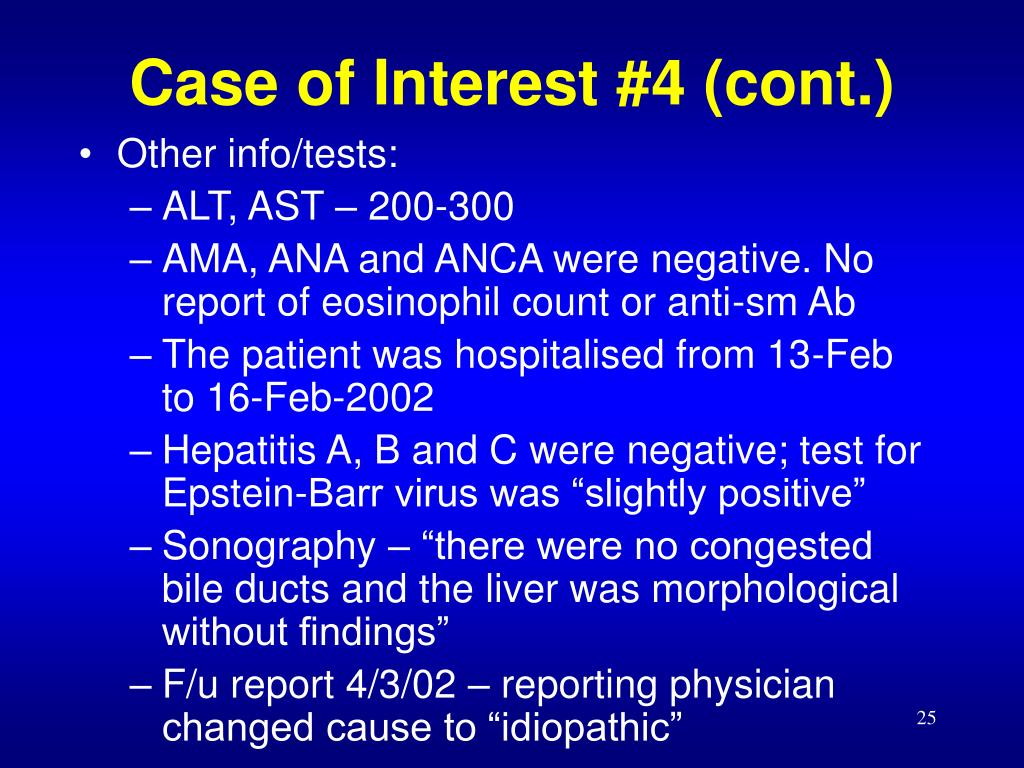Case of Interest #4 (cont.)