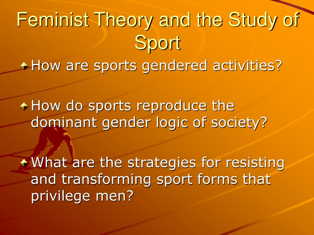 feminist gender sport Examination of gender equity and female participation in sport  a post-feminist critique of title ix's vision for gender equity in sports  language of .