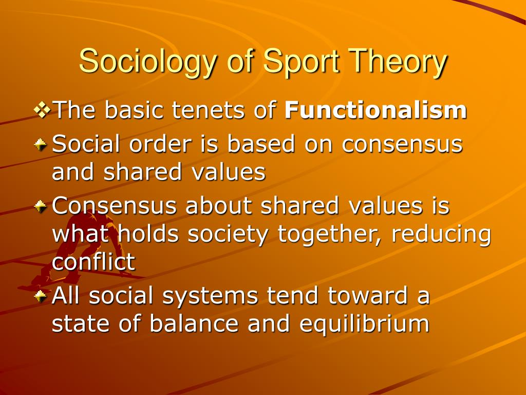 sociology and sport Learning objectives: - to define the field of sport sociology - to discuss the questions studied in this field - to describe how information from this field is used.