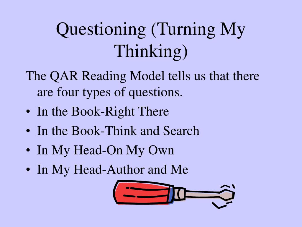 Questioning (Turning My Thinking)