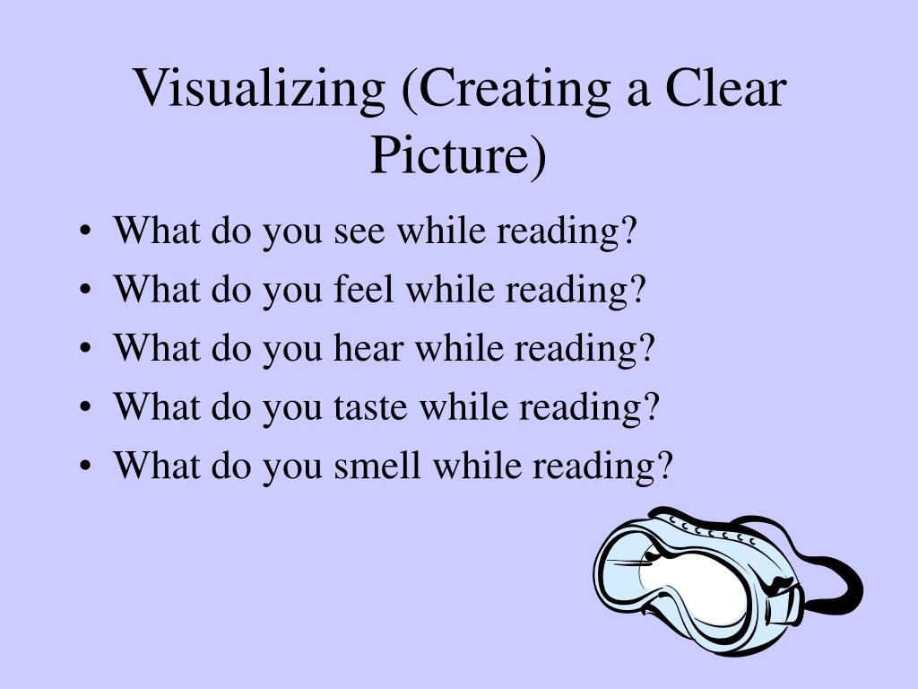Visualizing (Creating a Clear Picture)