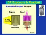 cr exposure readout
