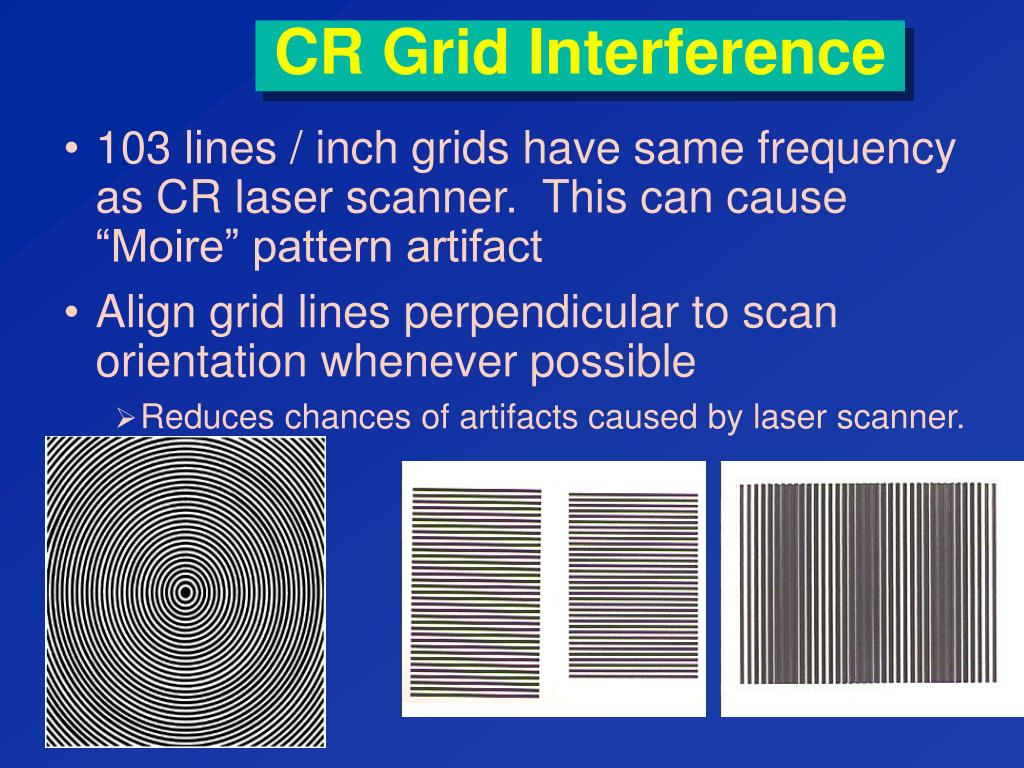 CR Grid Interference