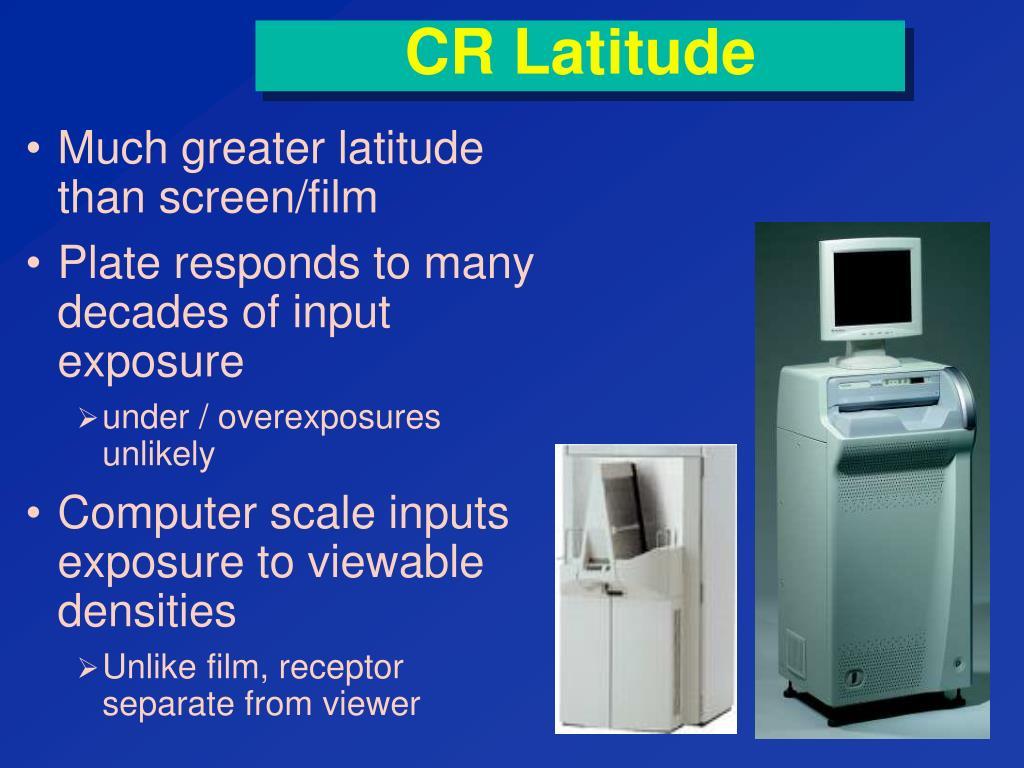 CR Latitude