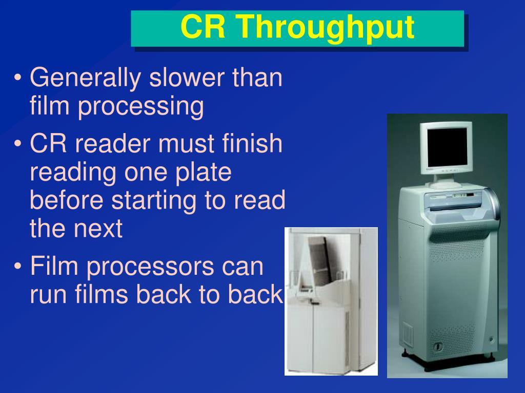 CR Throughput