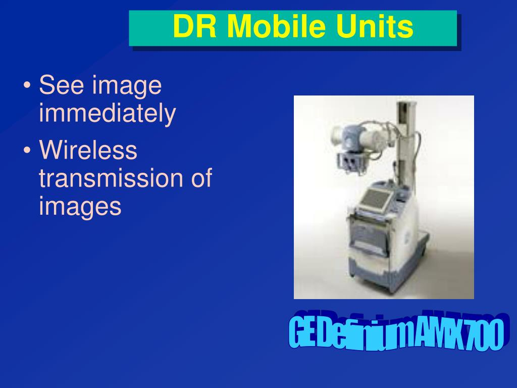DR Mobile Units
