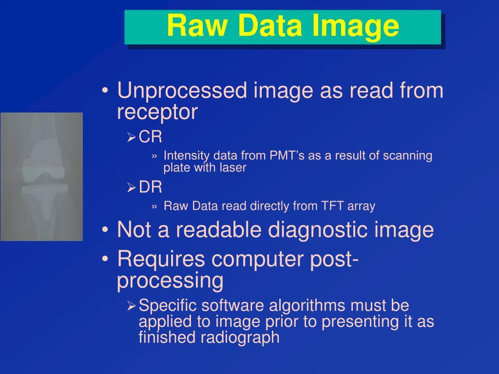 Raw Data Image