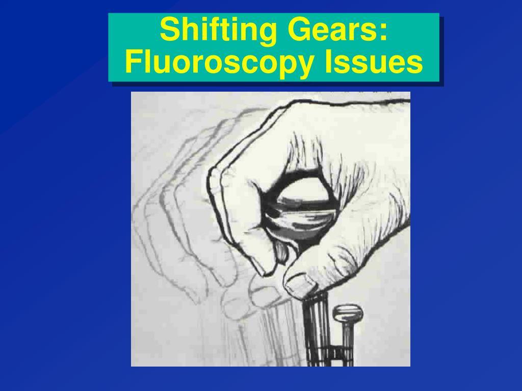 Shifting Gears: