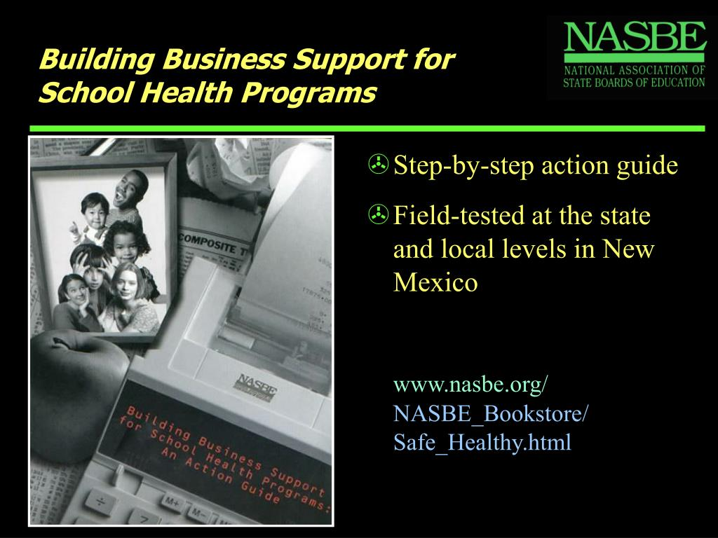 Building Business Support for School Health Programs