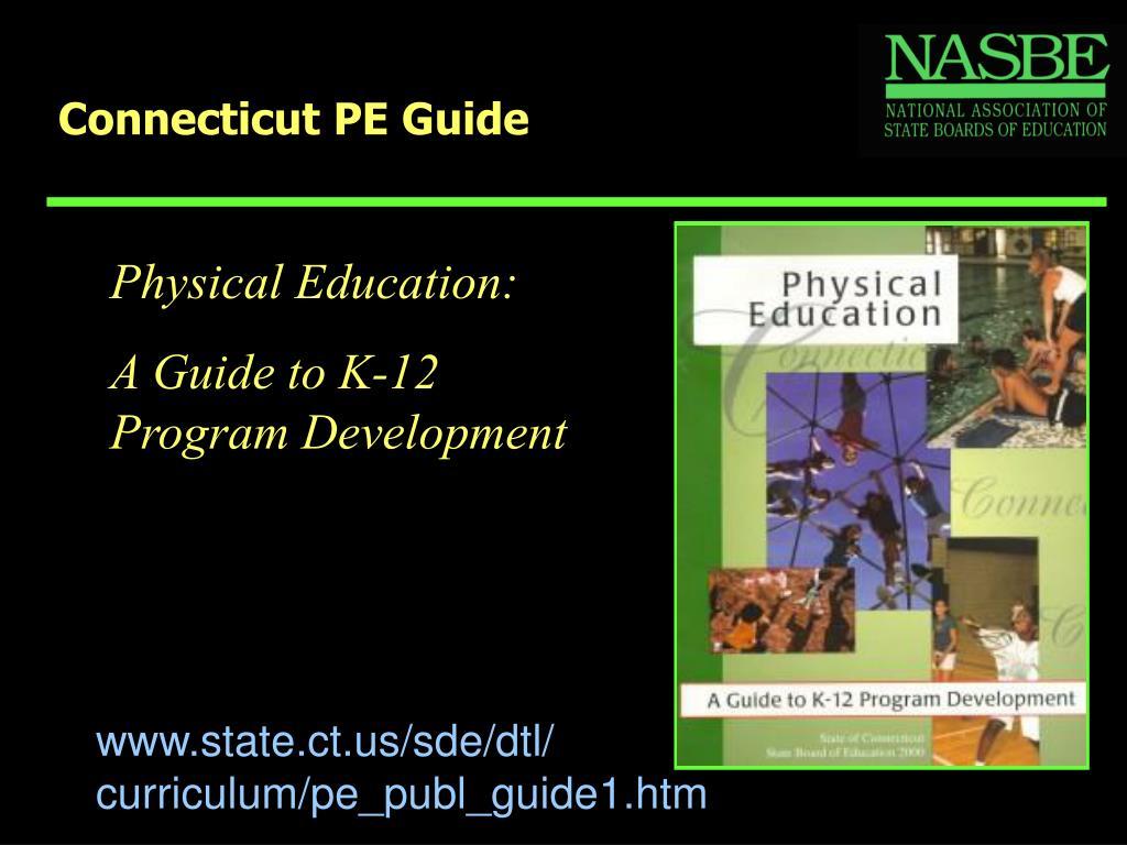 Connecticut PE Guide