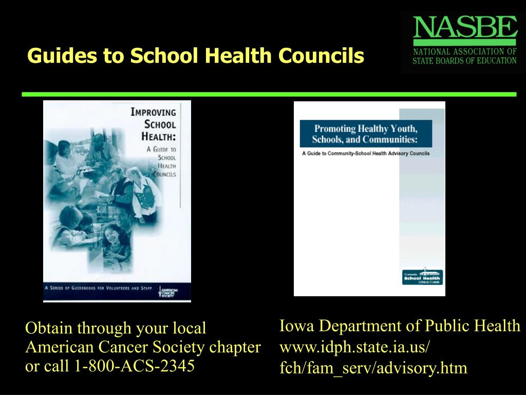 Guides to School Health Councils