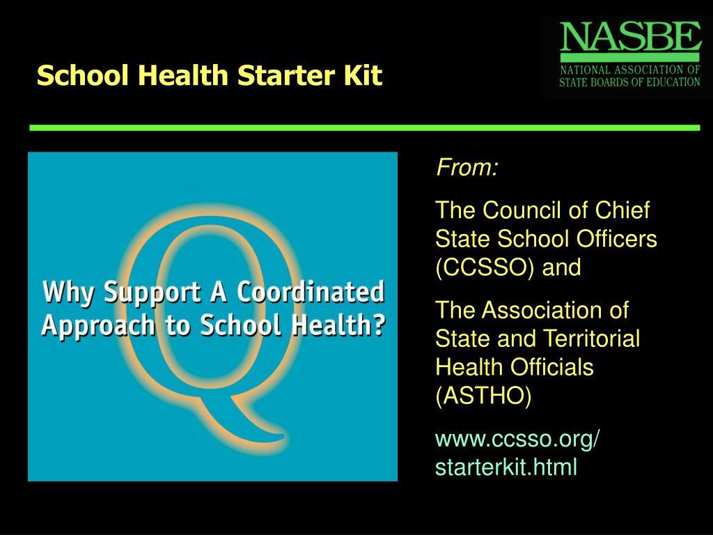 School Health Starter Kit